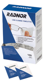 picture of cut Lens Cleaning Wipes
