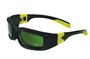 Radnor® Panzer™ Sealed Safety Glasses With Black And Yellow Frame And IRUV 3.0 Lens