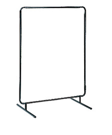 RADNOR® 6 ft H X 6 ft W 18 ga Black Strong 1