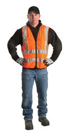 Radnor® Medium Orange Polyester Vest