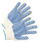Radnor® Blue/Natural Large Cotton And Polyester Seamless Knit General Purpose Gloves With Knit Wrist