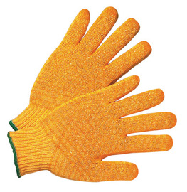 RADNOR® Orange Small Acrylic And Polyester Seamless Knit General Purpose Gloves With String Knit Cuff