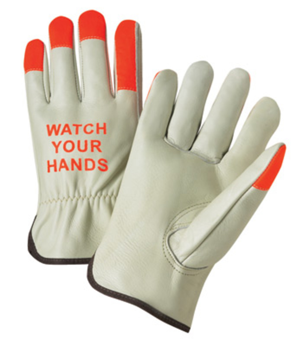 Driving gloves unlined - Radnor Large Select Grain Cowhide Unlined Drivers Gloves With Keystone Thumb Shirred Elastic Cuff