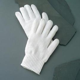Radnor® Large Bleached White Standard Weight Polyester/Cotton Ambidextrous String Gloves With Knit Wrist