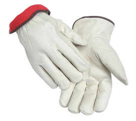 Radnor® X-Large White Cowhide Fleece Lined Cold Weather Gloves