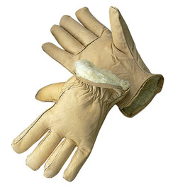 Radnor® Medium Tan Cowhide Thinsulate™ Lined Cold Weather Gloves