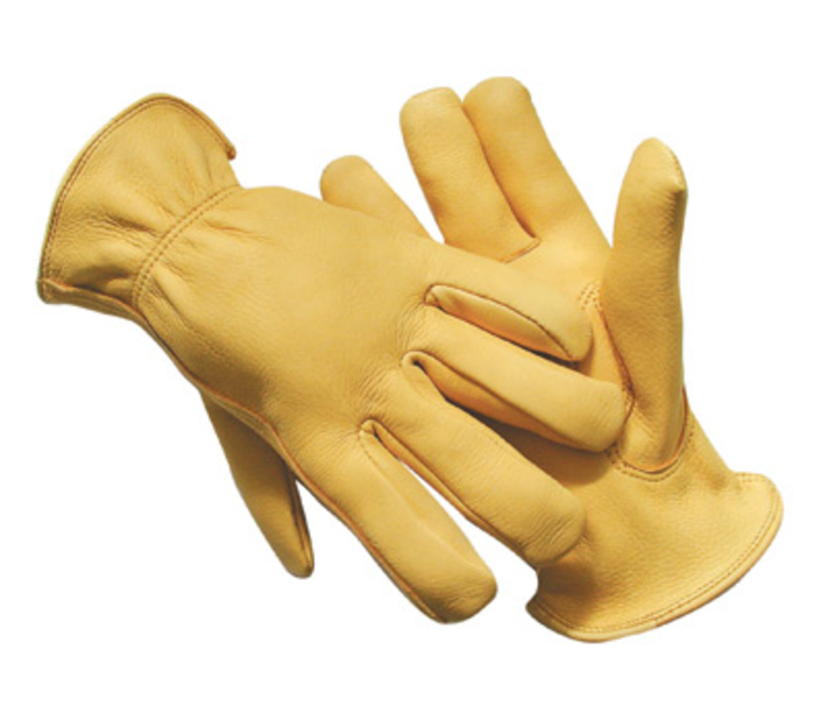 Driving gloves unlined - Radnor Large Premium Grain Deerskin Unlined Drivers Gloves With Keystone Thumb Slip On