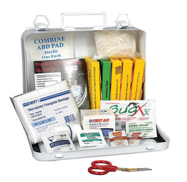 Radnor® 6 Person Vehicle First Aid Kit In Metal Case
