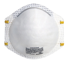 Radnor® N95 Particulate Disposable Respirator With Adjustable Nose Clip