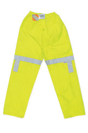 MCR Safety® Fluorescent Lime Luminator™ .16 mm Polyester And Polyurethane Jacket With Elastic Waist