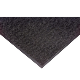 Superior Manufacturing 3' X 10' Charcoal Needle Punched Yarn Notrax® Indoor Entrance Anti-Fatigue Floor Mat With Vinyl Back