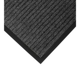 Superior Manufacturing 4' X 6' Charcoal Needle Punched Yarn Notrax® Indoor Entrance Anti-Fatigue Floor Mat With Vinyl Back