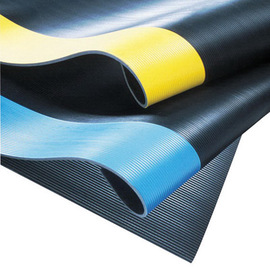 Superior Manufacturing 2' X 75' Black PVC Notrax® Non-Conductive Switchboard Anti-Fatigue Floor Mat