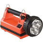 Streamlight® Orange E-Spot® LiteBox® Standard System Rechargeable Lantern With 120V AC/12V DC Charger (6 Volt Sealed Lead-Acid Batteries Included)
