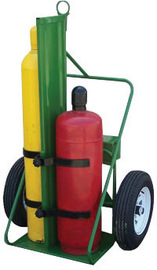 Saf-T-Cart 1000 lb Industrial Dual Cylinder Cart With 30