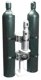 Saf-T-Cart SAFE-T-STANDS™ Steel Cylinder Cage With Lifting Eye