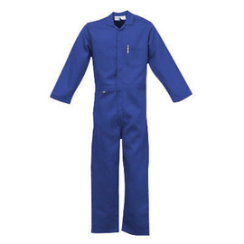 Stanco Safety Products™ Large Navy Blue Nomex® IIIA Arc Rated Flame Resistant Coveralls With Front Zipper Closure And 1 (4.8 cal/sq-cm)