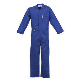 Stanco Safety Products™ 3X Royal Blue Nomex® IIIA Arc Rated Flame Resistant Coveralls With Front Zipper Closure And 1 (4.8 cal/sq-cm)