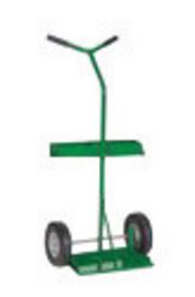 Sumner Manufacturing Company 1 Cylinder Cart With Semi Pneumatic Wheels And Y-Shaped Handle