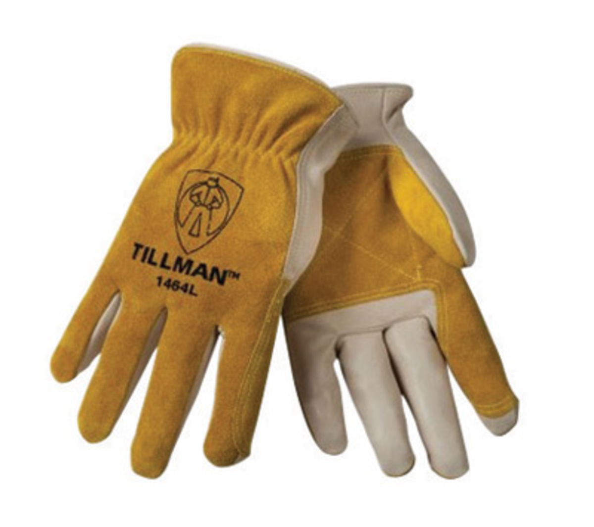 Tillman leather work gloves - Tillman Large Brown Standard Top Grain Cowhide Kevlar Drivers Gloves With Keystone Thumb And