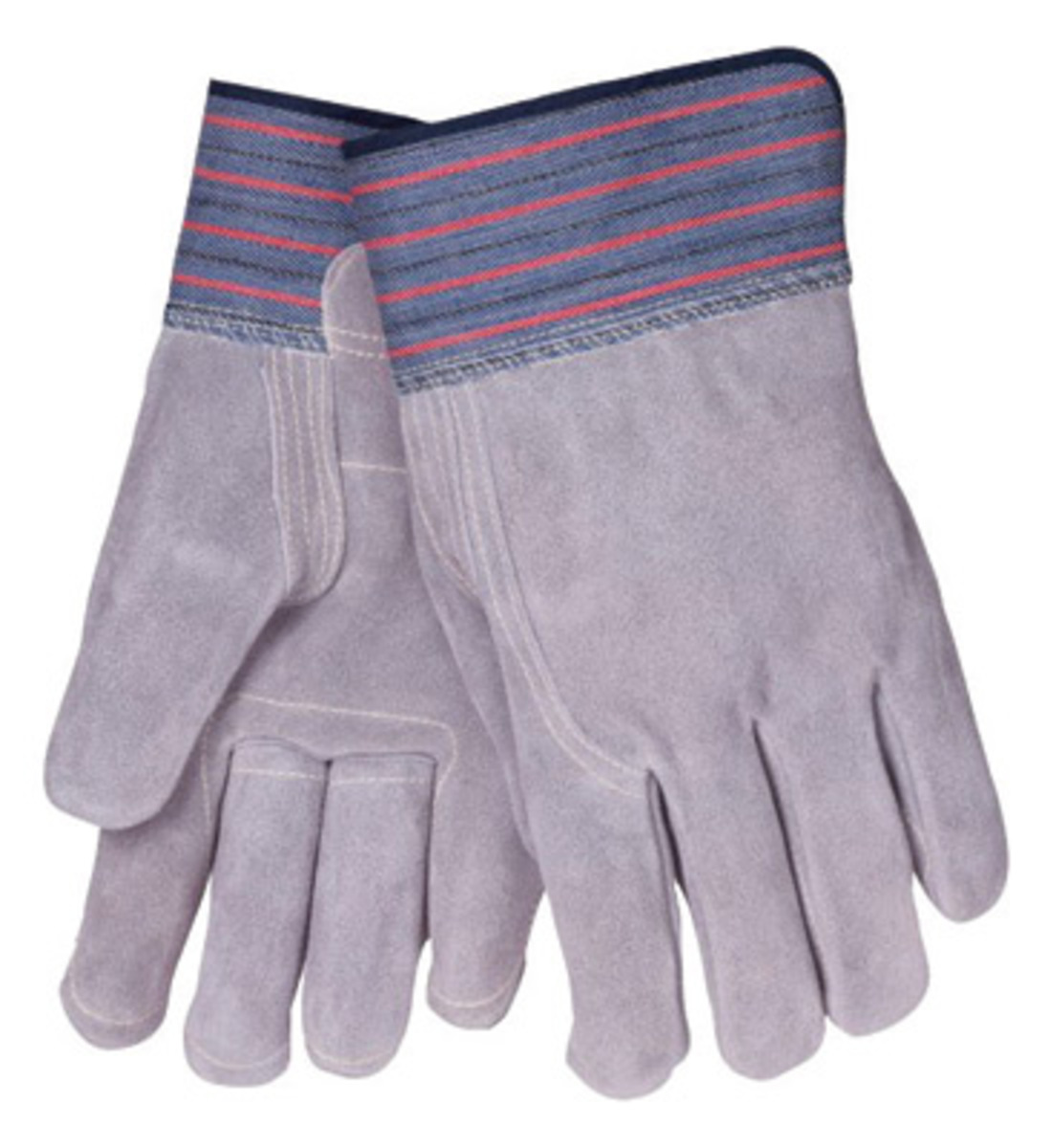 Tillman leather work gloves - Tillman Large Premium Grade Side Split Double Palm Cowhide Leather Palm Glove With 2 1