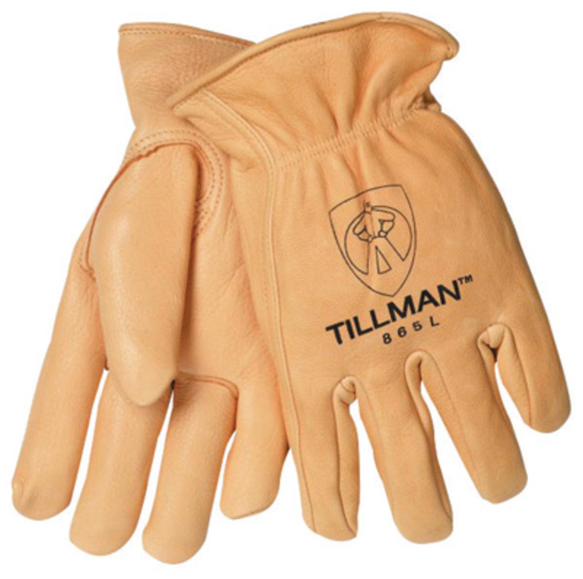 Airgas Til865xl Tillman X Large Gold Deerskin