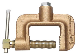 Tweco® Roto-Work GC-600-50 500 Amp C Clamp Style Copper Alloy Ground Clamp With 2 1/2