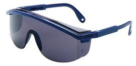 Honeywell Uvex Astrospec 3000® Black Safety Glasses With Gray Anti-Scratch/Hard Coat Lens