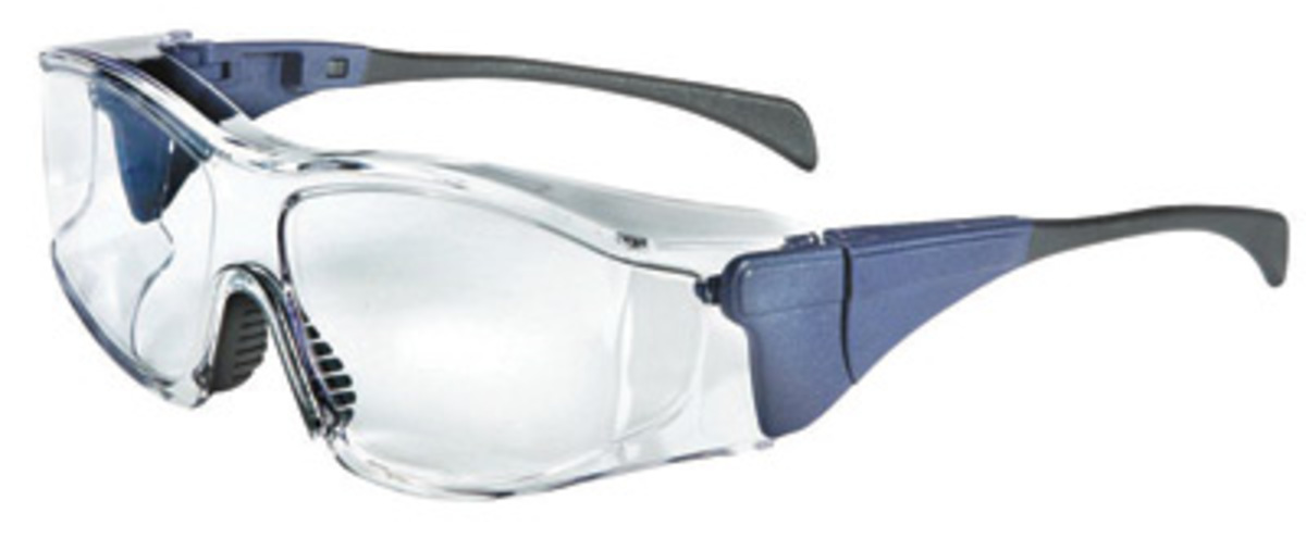 Large Frame Prescription Safety Glasses : Airgas - UVXS3150 - Uvex By Honeywell Ambient Over-The ...