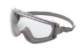 Honeywell Uvex Stealth® Indirect Vent Chemical Splash Impact Goggles With Gray Low Profile Frame And Clear Uvextreme® Anti-Fog Lens