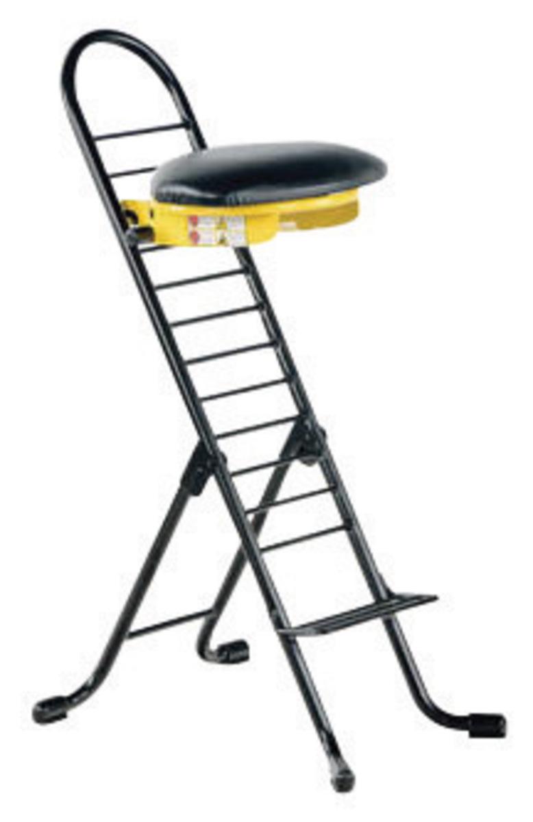 Airgas v18cpro600 vestil 14 x 9 ergonomic work chair for Furniture y equipment