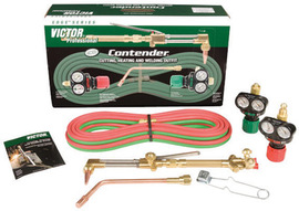 Victor® Contender® Heavy Duty Acetylene Heating, Welding And Cutting Outfit, CGA-510