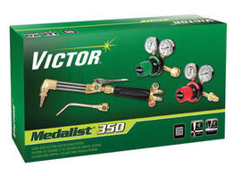 Victor® Model G350-540/510 Medalist® Medium Duty Acetylene Cutting/Welding Outfit CGA-540/CGA-510 With CA411-1 Cutting Attachment