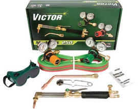 Victor® Model G350-540/300 Medalist® Medium Duty Acetylene Cutting/Welding Outfit CGA-540/CGA-300 With CA411-1 Cutting Attachment