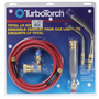Victor® TurboTorch® LP-2 MAPP® Or Propane Air/Fuel Torch Kit, CGA-510 (Includes 0386-0705 R-LP Adjustable Regulator, Handle, Hose, (2) Tip And Instruction Manual)