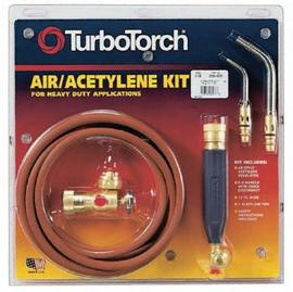 Victor® TurboTorch® Extreme™ X-3B Acetylene Air/Fuel B Torch Kit, CGA-520 (Includes Regulator, Rear Valve Handle, Hose, (2) Tip And Instruction Manual)