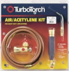 Victor® TurboTorch® Extreme™ X-5B Acetylene Air/Fuel B Torch Kit, CGA-520 (Includes Regulator, Rear Valve Handle, Hose, A-5 Tip And Instruction Manual)