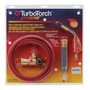 Victor® TurboTorch® Pro-Line™ PL-12ADLX-B Acetylene Air/Fuel B Torch Kit, CGA-520 (Includes Gauge Guard, Instruction Manual, Cylinder Wrench, Regulator, Rear Valve Handle, Hose And PL-8A Tip)