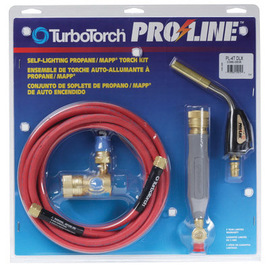 Victor® TurboTorch® Pro-Line™ PL-4TDLX MAPP® Or Propane Air/Fuel Torch Kit, CGA-510 (Includes Regulator, Handle, Hose, PL-4T Tip And Instruction Manual)