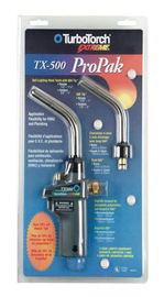 Victor® TurboTorch® ProPack TX500 MAPP® Or Propane Air/Fuel Torch (Includes TX-504 And T-503 Tip)