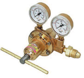 Victor® Meco® P Series High Pressure Specialty Gas Single Stage Regulator, 1/4