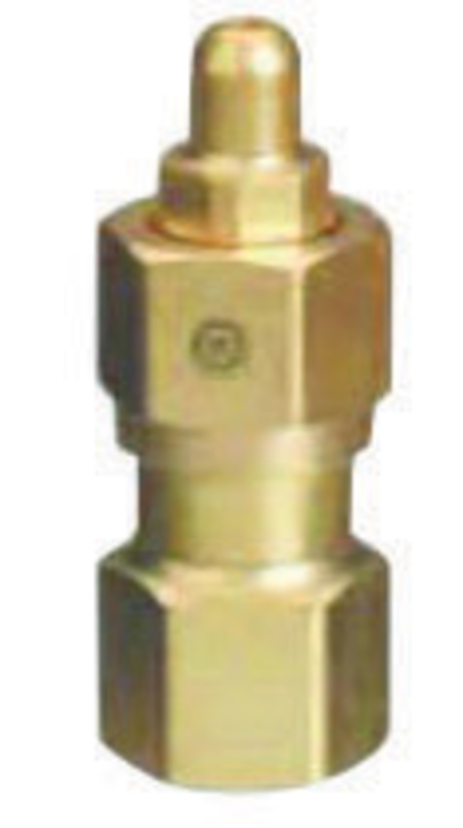 Airgas wes western cga brass cylinder