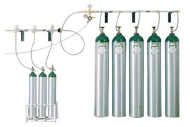 Western® Medical Oxygen 5 Cylinder Transfill System With Transfill Accessories Kit (5 Cylinder Supply to 3 Cylinder Fill), CGA-540