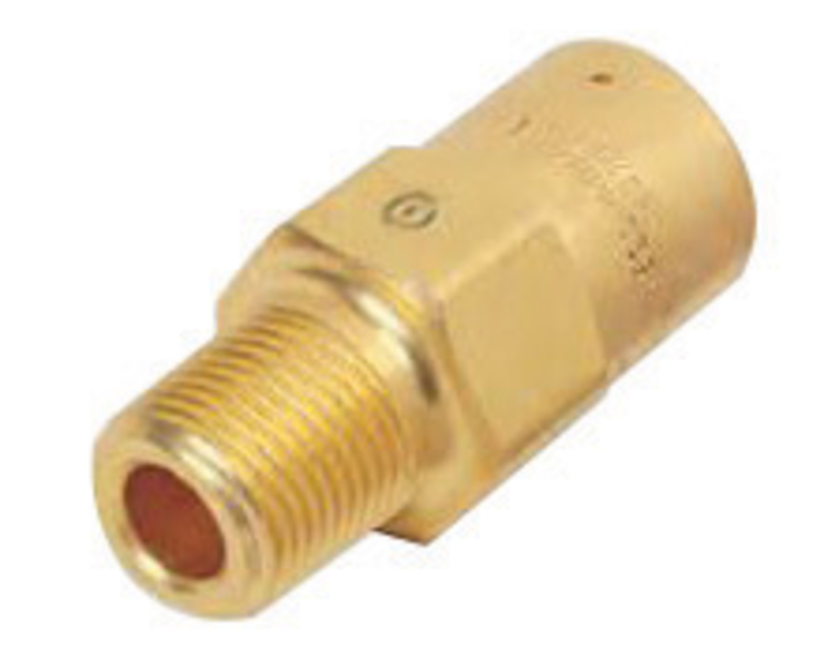 Relief Valve Piping : Airgas weswmv western quot npt inlet brass