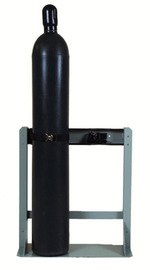 Airgas® Two Cylinder Steel Wall/Floor Stand For Cylinders Up To 12