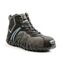 TERRA Size 12 Black Venom Mid Suede Leather Composite Toe Safety Boots With Direct Injected PU Midsole And Outsole