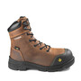 TERRA Size 7W Brown Vrtx 8000 Leather/Rubber Composite Toe Safety Boots With High-Traction, Slip-Resistant, Heavy Duty Outsole And Direct Injected, Shock Absorbing Mid-Density PU Midsole