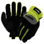 RADNOR® Medium TrekDry® And Synthetic Leather Mechanics Open Cuff 360 Cut Resistant Gloves With Touchscreen Technology