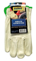 RADNOR® Medium White Premium Grain Cowhide Unlined Drivers Gloves