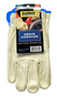 Radnor® X-Large Premium Grain Cowhide Unlined Drivers Gloves With Keystone Thumb, Slip-On Cuff, Blue Hem And Shirred Elastic Back (Carded)